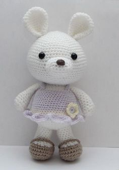 Lavender Bunny pattern pattern on Craftsy.com