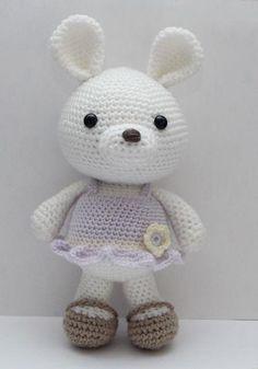 Lavender Bunny pattern pattern on Craftsy.com