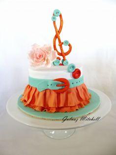 """Skirt cake """"Sophie"""""""