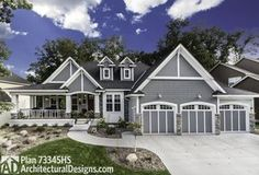 Plan 73354HS: Storybook House Plan with Open Floor Plan   Open ...