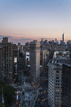 "ganymedesrocks: "" "" newyorkcityfeelings: "" The Flatiron Building "" My great love is NYC forever XOXOXOX "" Even the Flatiron building looks different now that we. Flatiron Building, Tumblr Photography, City Photography, Nyc, City Aesthetic, City Wallpaper, Dream City, Concrete Jungle, Empire State Building"