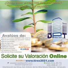 Valorar es proteger su inversión. http://www.tirex2021.com/ Feliz Navidad 2015.