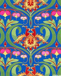 Jane Sassaman fabric design