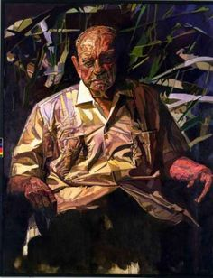 'Portrait of Luis Muñoz Marín' , by Francisco Rodón, oil on linen dated between 1974-1977. Currently at view at the Smithsonian.