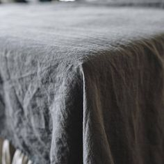 Linen sheet set Charcoal gray with a pair of slip pillow cases pure linen handmade from pure soft washed linen by Len.Ok  ■ material: 100% linen ■ color: Charcoal gray Linen sheet set is made from a natural and genuine 100% European linen. The color of this bedding is a Charcoal gray, wild and free! It has no chemicals. And it is classical and calm gray without any bluish or yellow hues. Just perfect gray! Len.Ok bedding addicted to eco-friendly, healthy cottage style of a sleeping place…