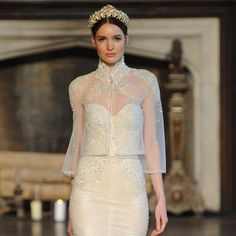 Straight from the autumn catwalks, the top 10 wedding dress trends to look out for in 2015. (Inbal Dror)