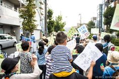 BIAS - 150905 川崎桜本ハルモニ―戦争反対デモ