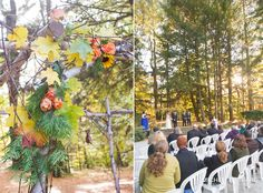 Fall Wedding Details :: Look Park Wedding in Florence, Massachusetts  :: Michelle Girard Photography