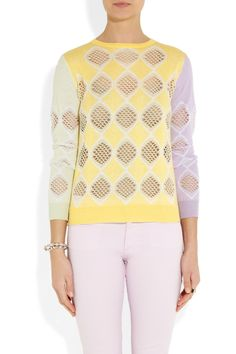 CarvenCotton and cashmere-blend sweater. http://blog.topshelfclothes.com/blog/