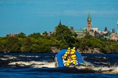 Whitewater rafting and the CBD don't often go hand-in-hand, but this capital city has shown that it's possible, and that city life isn't just for the faint hearted. Tandem Jump, Whitewater Rafting, Adventure Activities, Like A Local, Canada Travel, Capital City, Walking Tour, Ottawa, Kayaking