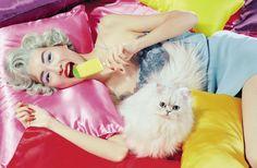 Estelle Chen by Miles Aldridge for Vogue Italia June 2015