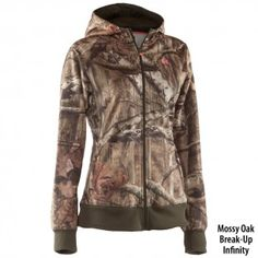 Got it, love it. Perfect for archery <3 -- Under Armour | Camo full zip jacket