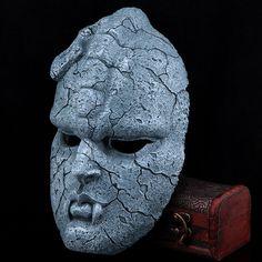 Creepy place collector's edition cos. ghost mask halloween horror jojo's bizarre adventure stone stone stone university of surface