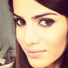 I like this eye make-up