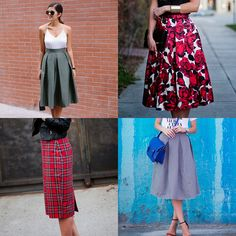 Oh, wow! These gorgeous DIY midi skirt tutorials are amazing! Anyone can make these!
