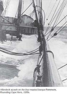 sailing around cape horn 1930's