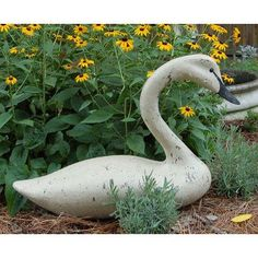 Craft-Tex Swansboro Swan Figurine Finish: