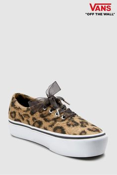 40ac401275ddca Buy Women s footwear Footwear Trainers Trainers Vans Vans from the Next UK  online shop. Vans Animal PrintLeopard ...