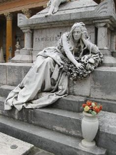 Certosa Cemetery, Bologna, Italy