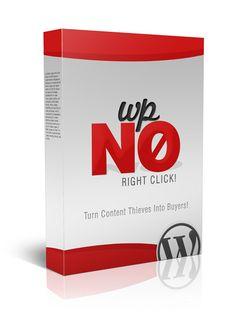 Plugin wordpress no right click   Plugin qui permet d'afficher Un Popup Révolutionnaire pour augmenter vos revenus à chaque fois que quelqu'un tente de voler le contenu de votre blog ou d'afficher le code source de votre blog!