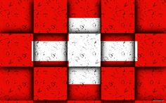 Switzerland Swiss Flag HD Wallpapers For Laptops And
