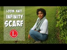 Loom Knit An Infinity Scarf – An Easy Project For Loom Knitting Beginners | Loom Knitting Videos
