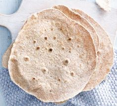 Wholemeal flatbreads