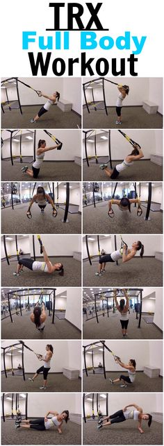 7 Exercises for a full body TRX workout!