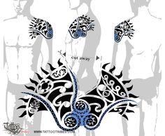 Tatuaggio di Sole Maori, Cover up tattoo - TattooTribes.com