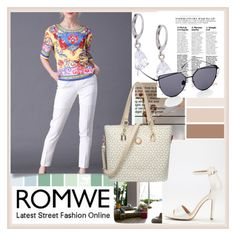 """""""ROMWE"""" by damira-dlxv ❤ liked on Polyvore featuring vintage"""