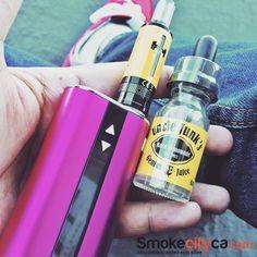 Summer time here in California ... Hows it going on the east coast?  Time for some staright up Lemonade  @unclejunksgeniusjuice  #unclejunkeejuice #istick #vale #ecig #vapelife #summer #sunnyday #hot # #nosmoking #pink #yellow #vapepics #vapeporn #modhandcheck #cloudchasing #subohm #vapetricks #smokecityca #smoketricks #eastcoast #westcoast