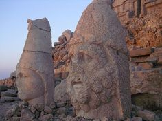 Mount Nemrut, Adiyaman,Turkey, Historical Place In Turkey Rome, Seven Wonders, World Famous, Places Around The World, Archaeology, Wonders Of The World, Mount Rushmore, Bodies, Middle East