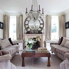 Opulent Wohnzimmer Wohnideen Living Ideas Interiors Decoration