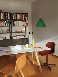 30 Degree lamp, Neu 10 Upholstery chair, CPH Chair and CPH Table.