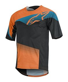Alpinestars Mens Mesa Short Sleeve Jersey Bright OrangeBright Blue Large    More info could be found at the image url.Note It is affiliate link to  Amazon. d15de95e3