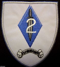 Rhodesia Rhodesian Light Infantry (RLI) 2 Commando Patch