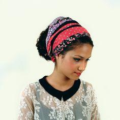 Tichel  / headcover / womens headband. So cute!