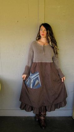 XL-1X-2X plus size Eco upcycled clothing von lillienoradrygoods