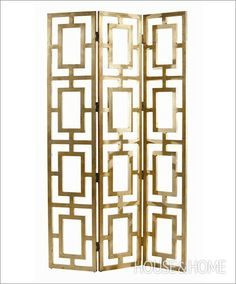 screen from Black Rooster Decor  Photo Gallery: Trendy Room Divider Screens   House & Home