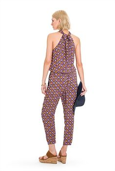 Halterneck Jumpsuit Casual Dresses For Women, Jumpsuit, Formal, Summer 2015, Clothes, Fashion, Overalls, Preppy, Outfits
