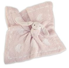 Barefoot Dreams Cozychic Dream Mini Blanket with Buddie (Pink)
