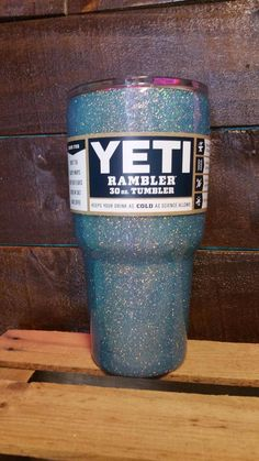 This listing is for Hand Glittered Yeti products <3 Sealed and smooth to the touch! We are an authorized Yeti dealer, so you never have to wonder if our products are the real deal ;)  Colors that arent on the color chart: Ballet Slipper - Light Baby Pink Kiss My Bass - Iridescent Green and Blue Sangria - Translucent Purple Pharaoh - Small flake Gold glitter Pegasus - Light Pink with a Metallic holographic shimmer  Check out our other listings for more options! We also offer RTIC and Ozark...