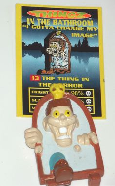 1997 Vintage Thingz That go Bump in the Night, figure & card MIG #13 - Very Rare