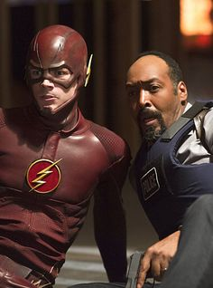 Arrow / Flash Crossover - Barry Allen & Detective West