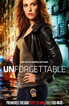 I'm watching #CBS #Unforgettable  #PoppyMontgomery as #CarrieWells