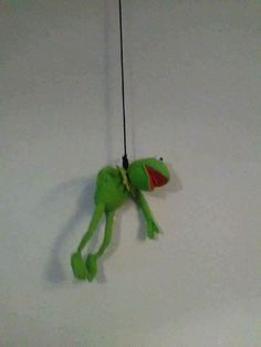 Kermit meme reaction pic suicide sad depressed green tumblr white rope smile