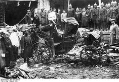 Остатки экипажа после взрыва на даче П.А.Столыпина