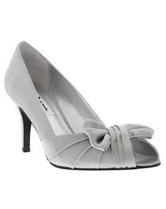 3c6273f81aafd Nina Bridal Wedding Accessories FORBES ROYAL SILVER Silver Shoe Silver Wedding  Shoes