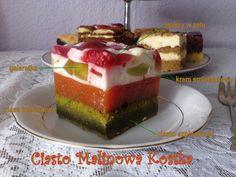 Ciasto Malinowa Kostka PRZEPIS