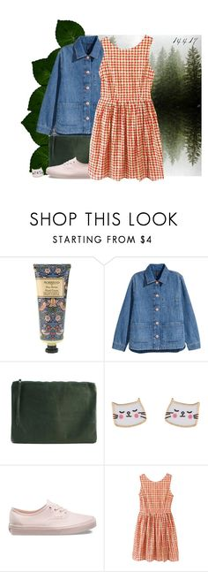 """14.4.17"" by yoyoyoyogangsterbobcat on Polyvore featuring ...Lost, William Morris, rib & hull, Accessorize, Vans and Chicnova Fashion"